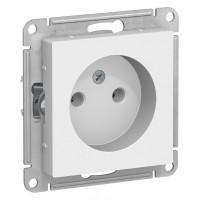Розетка AtlasDesign ATN000141 без заземления без шторок, белый