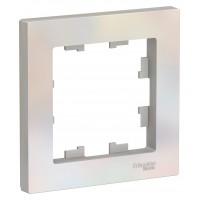 Рамка AtlasDesign ATN000401 1-постовая, жемчуг