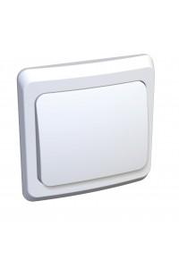 Выключатель Этюд BC10-001B 10A скрытая установка, белый