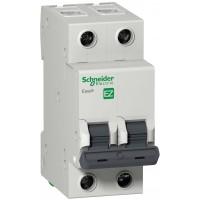 Автоматический выключатель Easy9 EZ9F34206 2П 6A C 4,5 кА