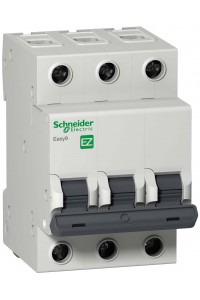Автоматический выключатель Easy9 EZ9F34325 3П 25A C 4,5 кА