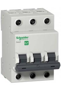Автоматический выключатель Easy9 EZ9F34363 3П 63A C 4,5 кА