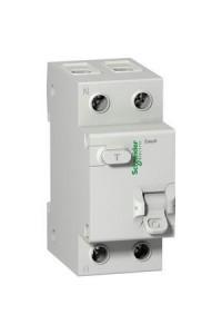 Дифференциальный выключатель нагрузки Easy9 EZ9R34225 2П 25A 30MA АС