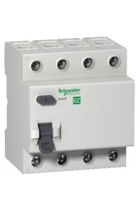 Дифференциальный выключатель нагрузки Easy9 EZ9R34425 4П 25A 30MA АС