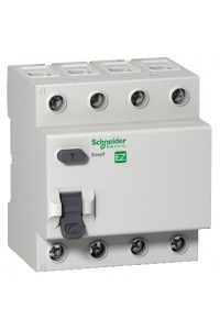 Дифференциальный выключатель нагрузки Easy9 EZ9R34440 4П 40A 30MA АС
