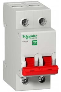 Выключатель-разъединитель (рубильник) Easy9 EZ9S16263 2П 63A 400B
