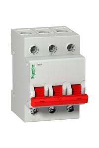 Выключатель-разъединитель (рубильник) Easy9 EZ9S16363 3П 63A 400B