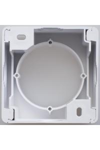 Коробка для наружного монтажа Glossa GSL000100, белый