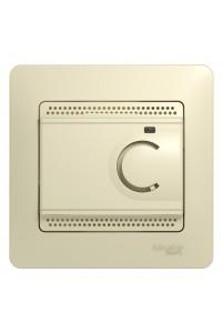 Термостат тепл.пол Glossa GSL000238 10A, бежевый