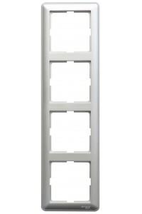 Рамка W59 KD-4-58 4-постовая, мат.хром