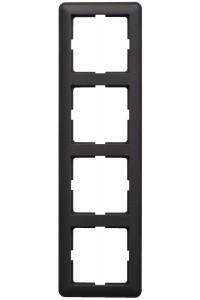 Рамка W59 KD-4-68 4-постовая, ч.бархат