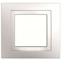 Рамка Unica MGU2.002.18 1-постовая, белый