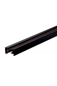 Шинопровод для спотов 4L 1м 4X8 (трехфазный, 4 провода, черный) 62769