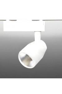Управляемый трековый светодиодный светильник Track-142-Remote (220V, 10W, MIX-White, белый корпус) 71568