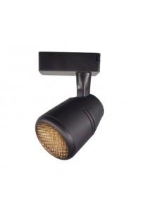Трековый светодиодный светильник «антиблик» Track-124-NET (220V, 20W, 6000K, черный корпус) 71584
