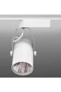 Трековый светодиодный светильник Track-51 (220V, белый корпус, 5W, однофазный ) 82925