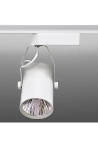 Трековый светодиодный светильник Track-52 (220V, белый корпус, 10W, однофазный ) 82927
