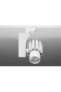 Трековый светодиодный светильник Track-68 (220V, белый корпус, 40W, однофазный) 99718