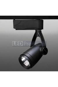 Трековый светодиодный светильник Track-75 (220V, черный корпус, 7W, однофазный) 99738
