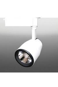 Трековый светодиодный светильник Track-92 (220V, бело-черный корпус, 35W, однофазный) 99750