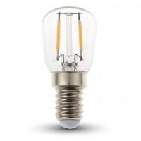 Филаментная лампа V-TAC 2 ВТ, 180LM, ST26, Е14, 3000К