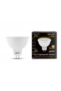 Светодиодная лампа Gauss LED MR16 GU5.3 5W 500lm 3000K 1/10/100