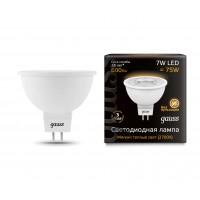 Светодиодная лампа Gauss LED MR16 GU5.3 7W 600lm 2700K 1/10/100