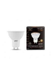 Светодиодная лампа Gauss LED MR16 GU10 7W 600lm 3000K 1/10/100