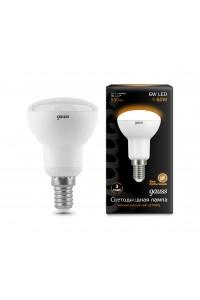 Светодиодная лампа Gauss LED R50 E14 6W 500lm 3000K 1/10/50