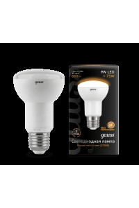 Светодиодная лампа Gauss LED R63 E27 9W 660lm 2700K 1/10/50