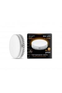 Светодиодная лампа Gauss LED GX53 8W 680lm 3000K 1/10/100