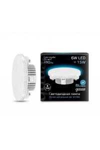 Светодиодная лампа Gauss LED GX53 6W 490lm 4100K 1/10/100