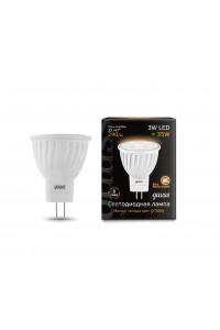 Светодиодная лампа Gauss LED MR11 GU4 3W 290lm 2700K 1/10/100
