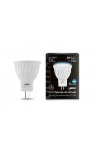 Светодиодная лампа Gauss LED MR11 GU4 3W 300lm 4100K 1/10/100