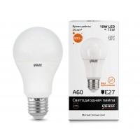 Светодиодная лампа Gauss LED Elementary A60 10W E27 880lm 3000K 1/10/50