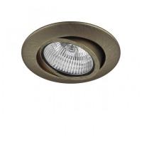 Встраиваемый светильник Lightstar TESO ADJ 11081