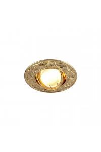 Встраиваемый светильник Elektrostandard 711 MR16 GD золото 4607138143454
