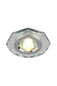 Встраиваемый светильник Elektrostandard 8020 MR16 SL зеркальный/серебро 4690389056390