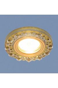 Встраиваемый светильник Elektrostandard 8260 MR16 YL/GD зеркальный/золото 4690389056697