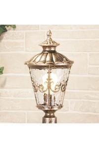Уличный светильник Elektrostandard Diadema F GLYF-8046F черное золото 4690389056956