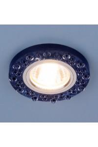 Встраиваемый светильник Elektrostandard 8260 MR16 SP/CH сапфир/хром 4690389057410