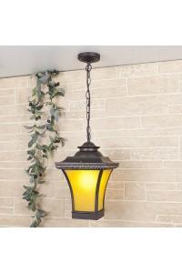 Уличный подвесной светильник Elektrostandard Libra H венге 4690389064760