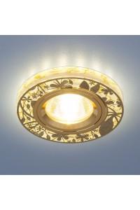 Встраиваемый светильник Elektrostandard 8096 MR16 GD золото 4690389066429