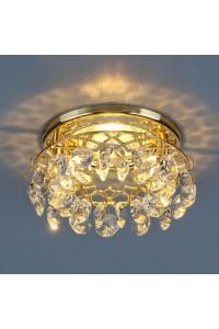 Встраиваемый светильник Elektrostandard 7070 MR16 GD/СL золото/прозрачный 4690389066917