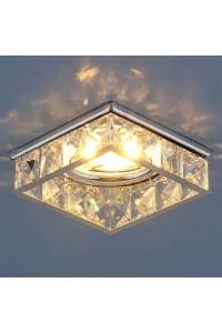 Встраиваемый светильник Elektrostandard 7274 MR16 CH/CL хром/прозрачный 4690389067020