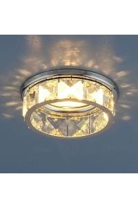 Встраиваемый светильник Elektrostandard 7275 MR16 CH/CL хром/прозрачный 4690389067037