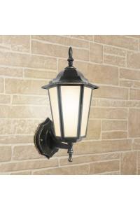 Уличный настеный светильник Elektrostandard 1004U черное золото 4690389085741