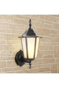 Уличный настеный светильник Elektrostandard 1004U черный 4690389085758