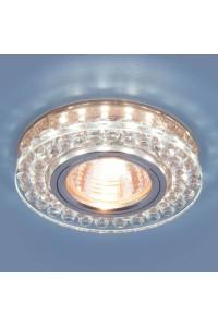 Встраиваемый светильник Elektrostandard 8381 MR16 CL/GC прозрачный/тонированный 4690389098338