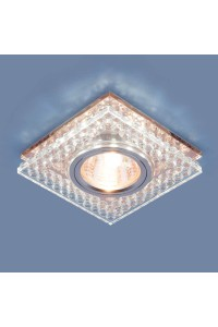 Встраиваемый светильник Elektrostandard 8391 MR16 CL/GC прозрачный/тонированный 4690389098352